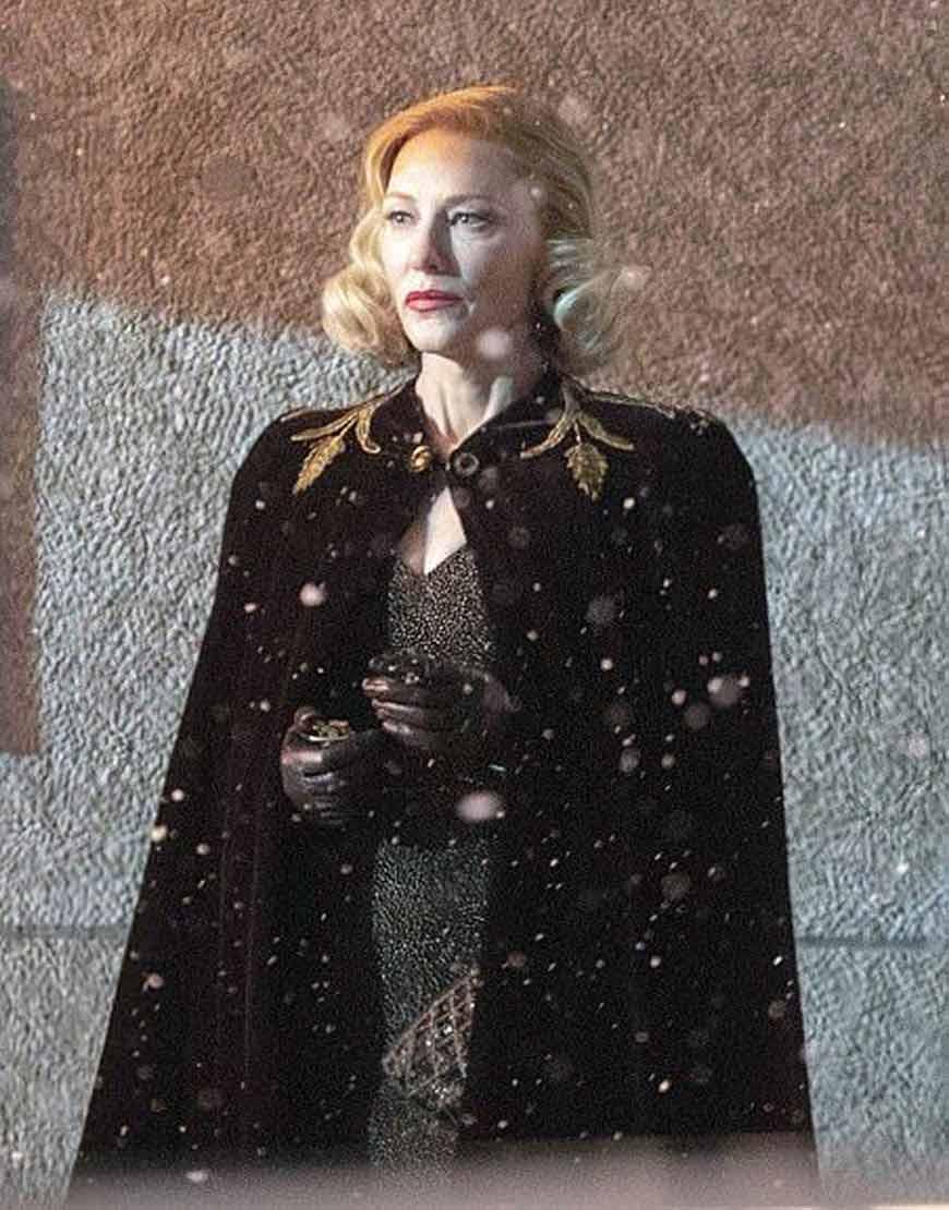 Nightmare-Alley-2021-Cate-Blanchett-Black-Coat