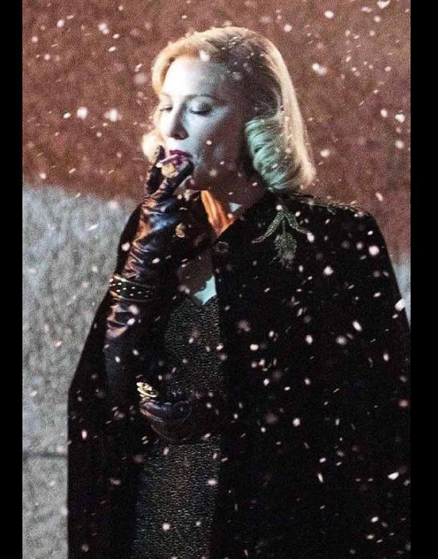 Nightmare-Alley-2021-Cate-Blanchett-Cloak-Coat