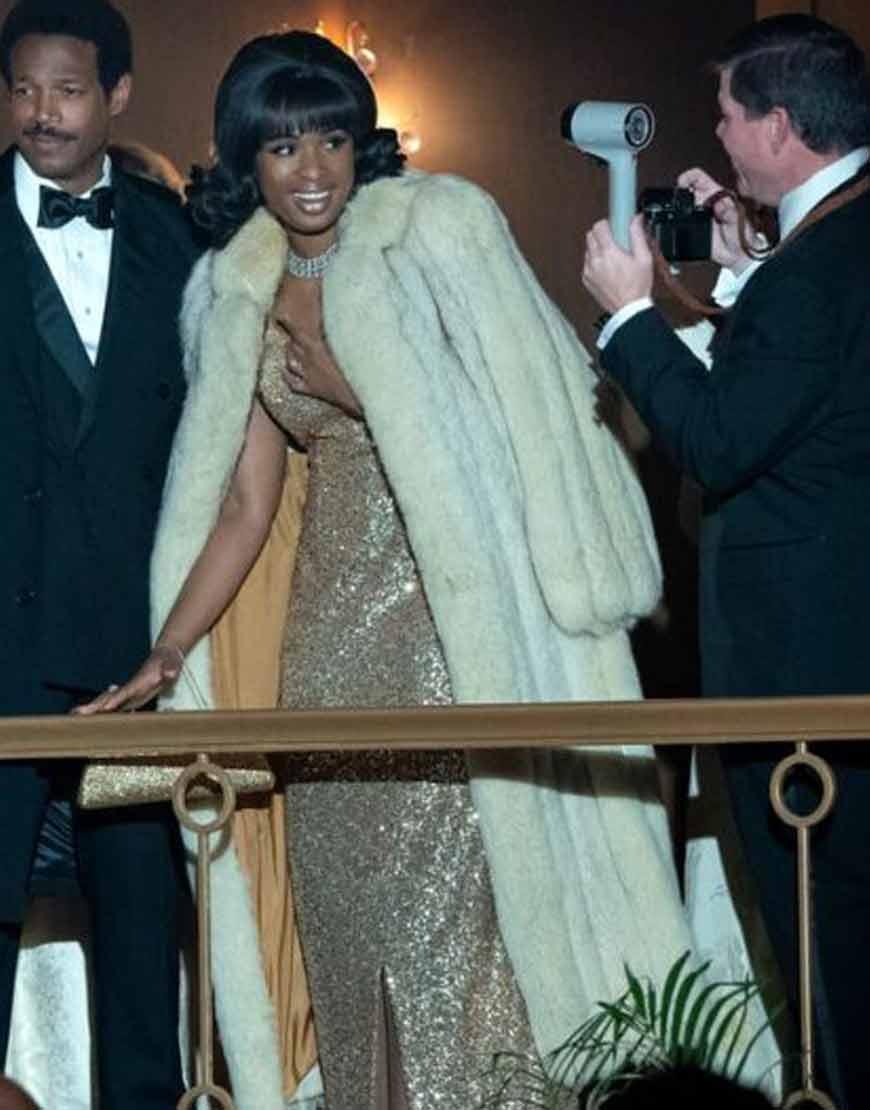 Respect-2021-Jennifer-Hudson-Faux-Fur-Coat