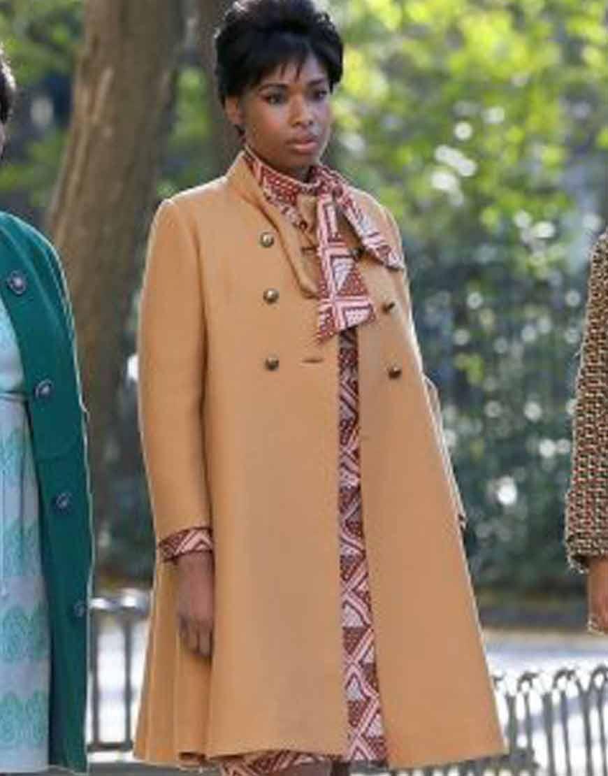 Respect-2021-Jennifer-Hudson-Peach-Coat