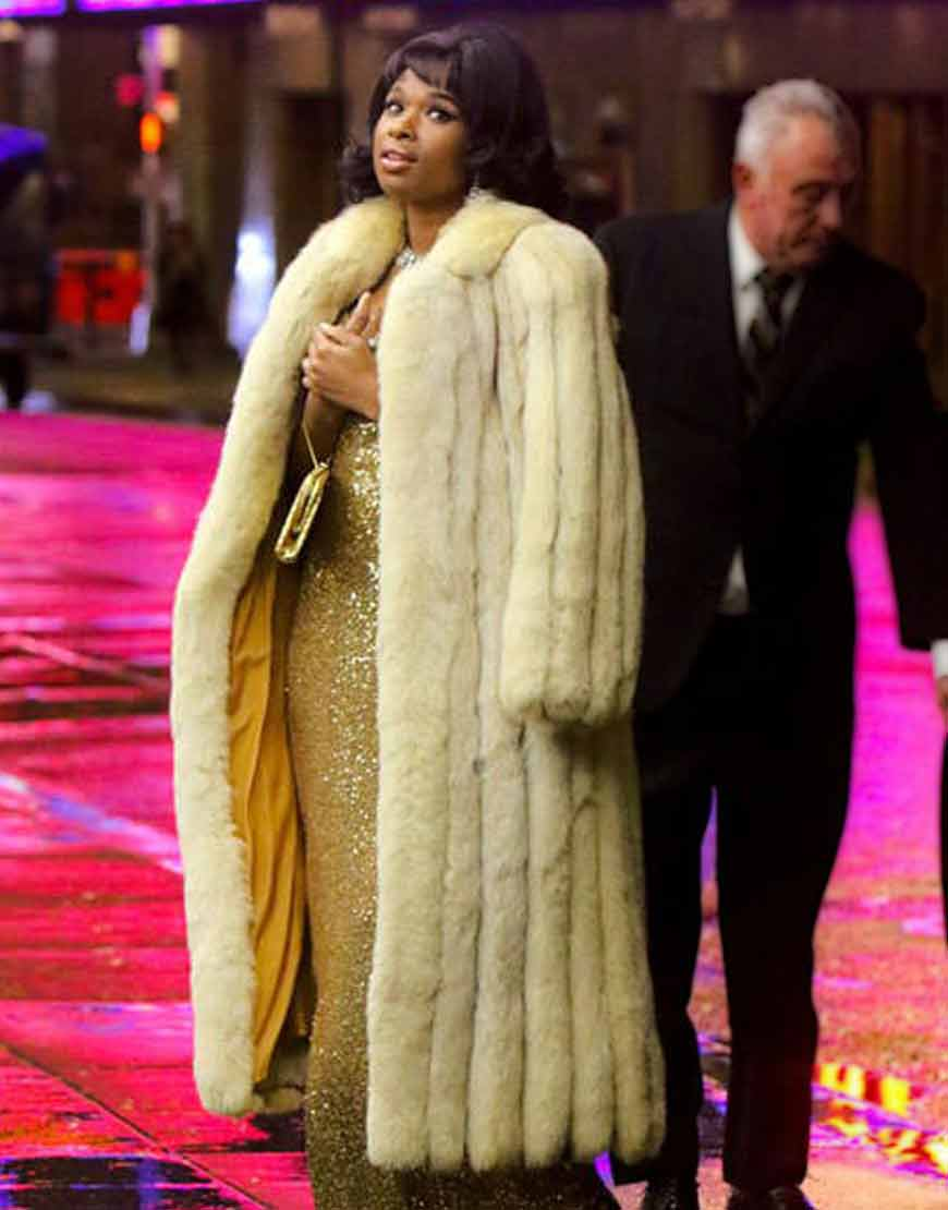 Respect-2021-Jennifer-Hudson-Shearling-Fur-Coat