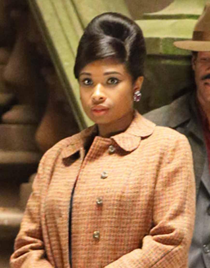 Respect-2021-Jennifer-Hudson-Wool-Blend-Brown-Coat