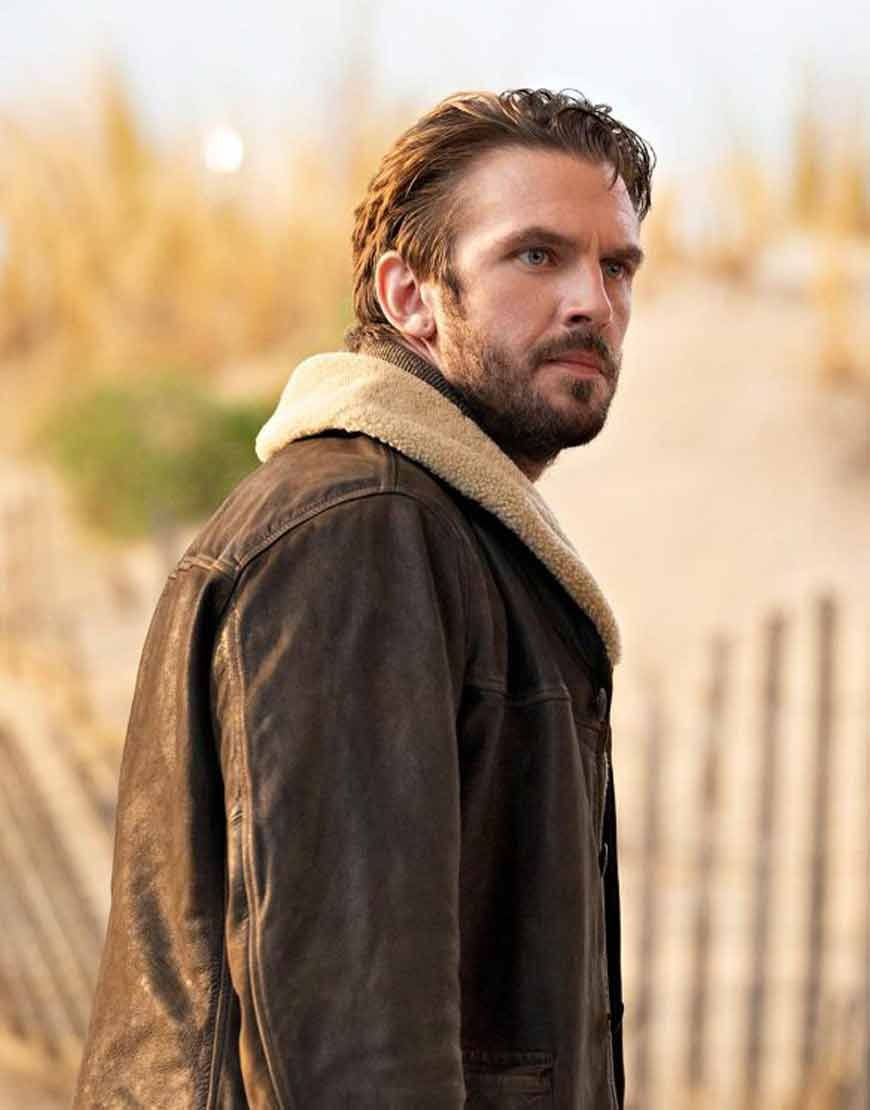 Solos-2021-Dan-Stevens-Leather-Jacket-With-Shearling-Collar