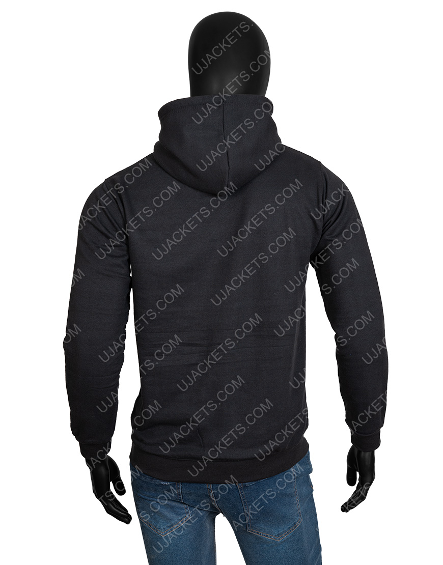 Sweet Tooth Unisex Black Hoodie For Men & Women