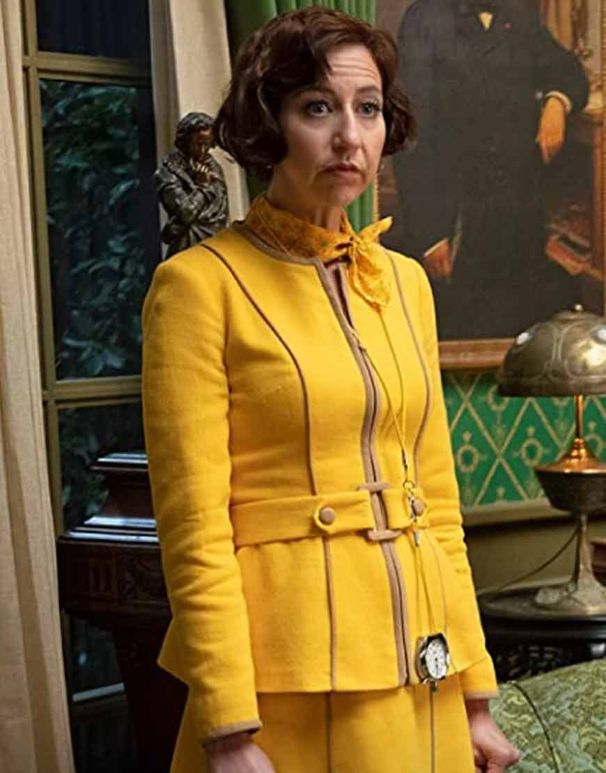 The-Mysterious-Benedict-Society-2021-Kristen-Schaal-Yellow-Coat