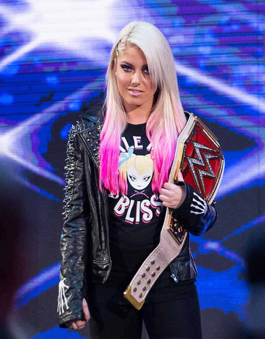 Alexa-Bliss-Little-Miss-Bliss-WWE-Studded-Black-Leather-Jacket