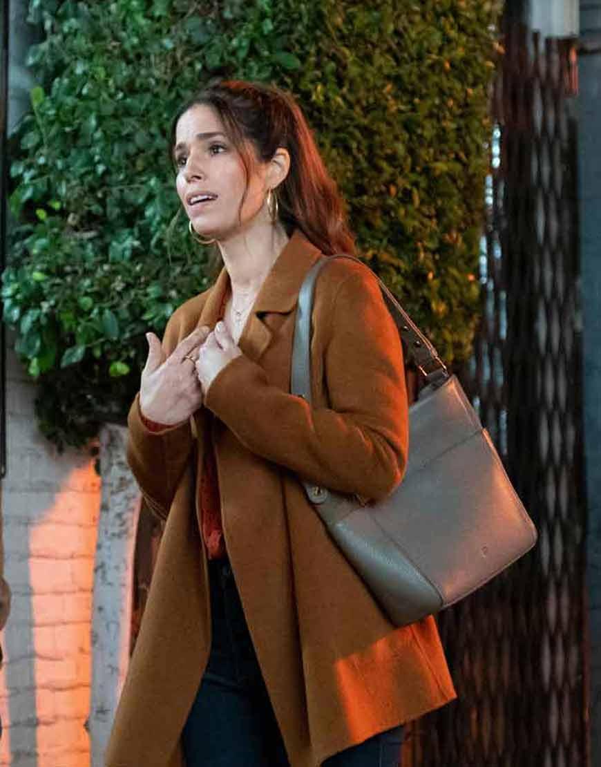 Ana-Ortiz-TV-Series-Love-Victor-S02-Mid-Length-Coat