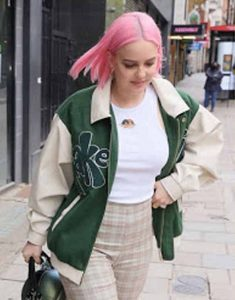 Anne-Marie-Our-Song-2021-Green-Jacket