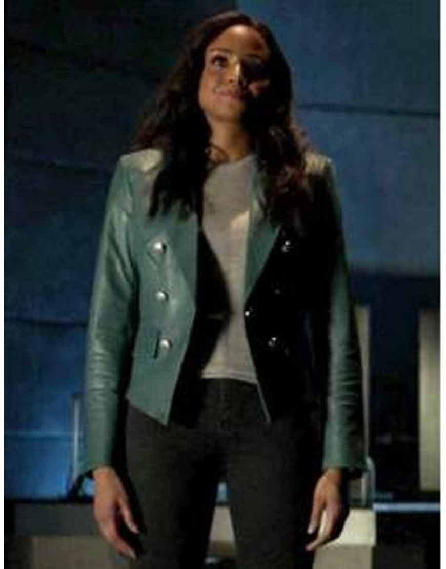 Batwoman-S02-Sophie-Moore-Blue-Leather-Jacket