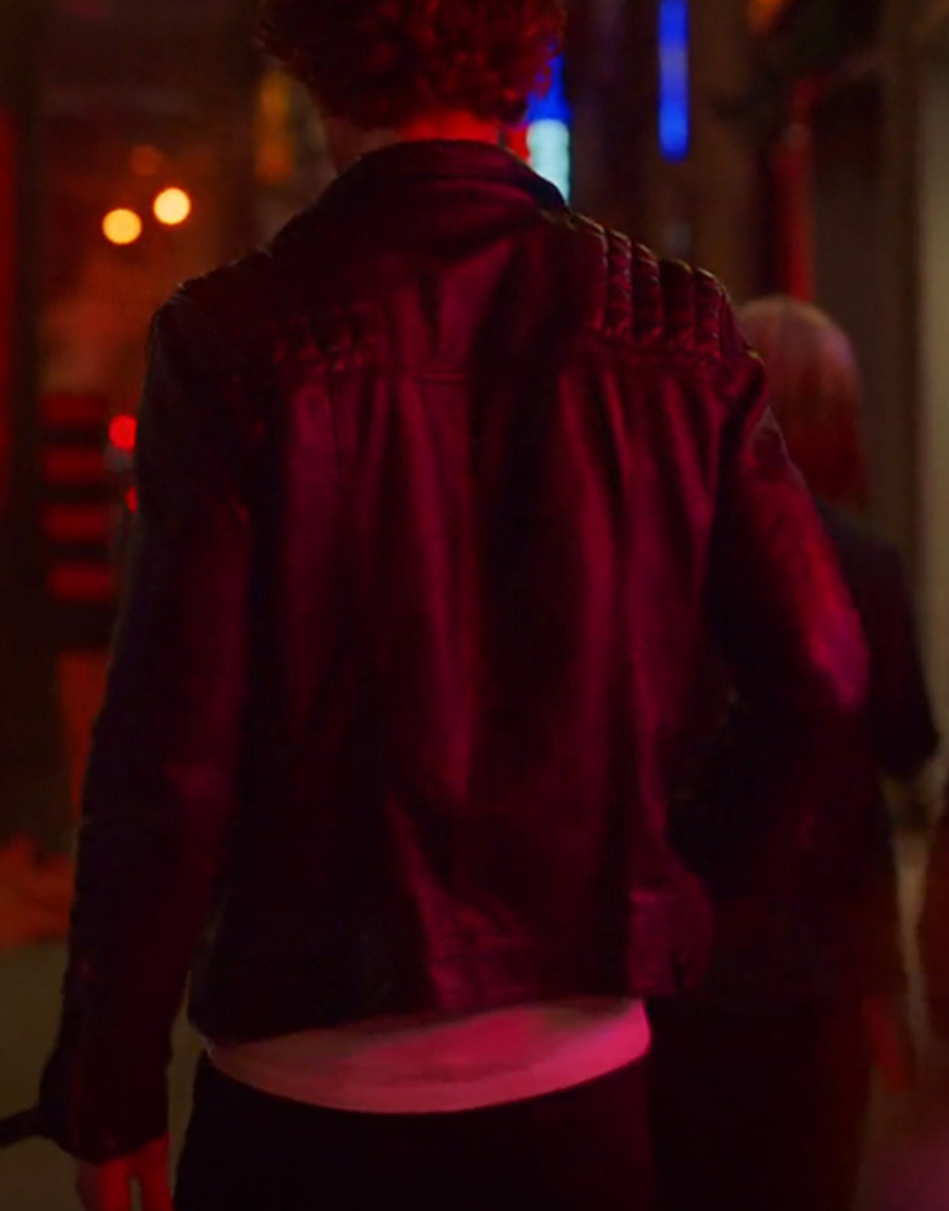 Brad Simon TV-Series SexLife Adam 2021 Demos Black Jacket