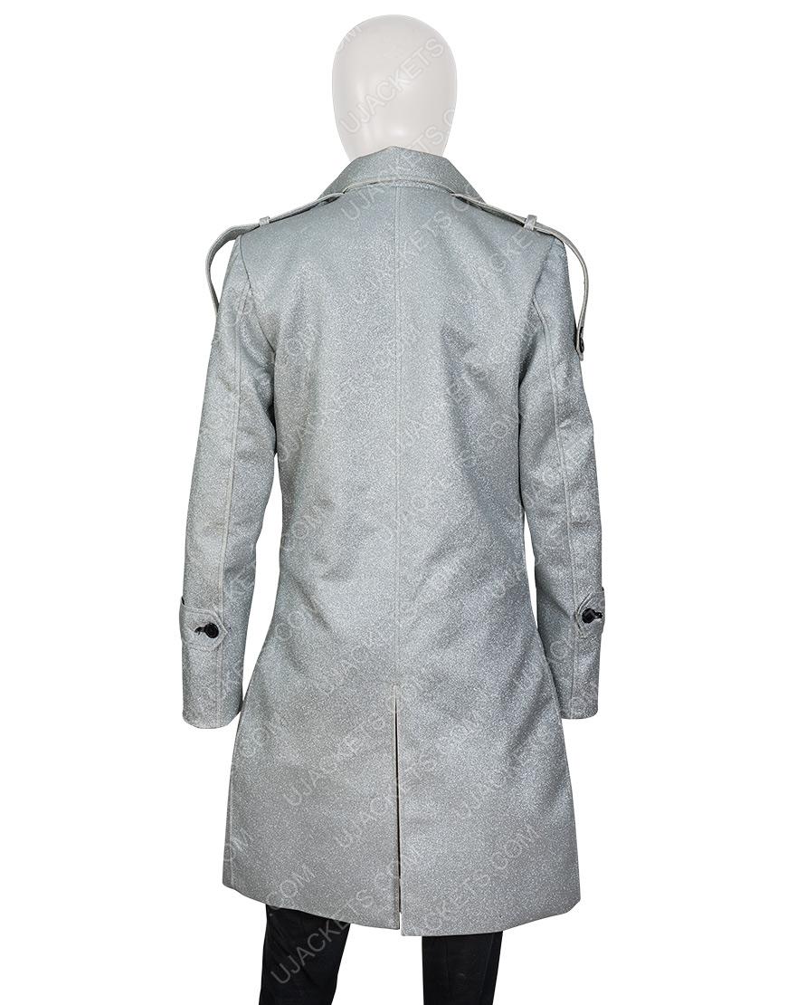 Dynasty S03 Fallon Carrington Metallic Coat