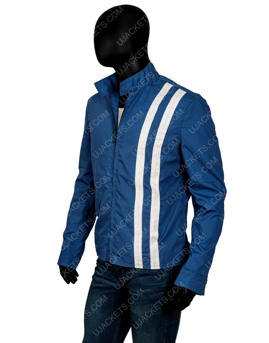 Elvis Presley Blue Speedway Jacket