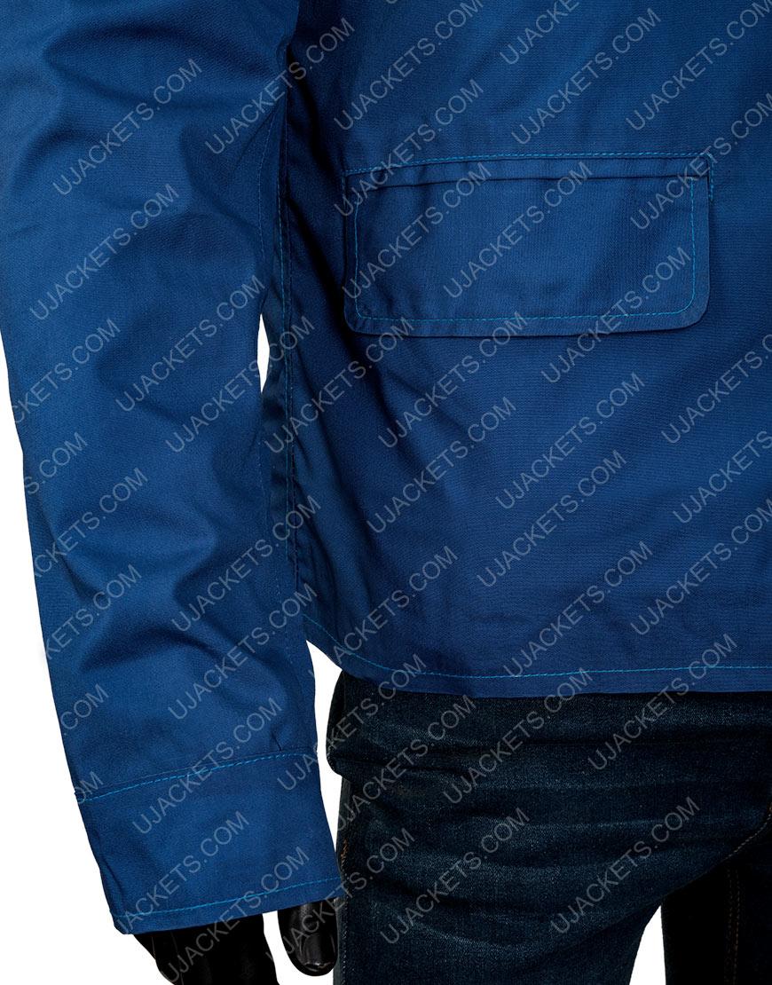 Elvis Presley Cotton Jacket With White Stripes