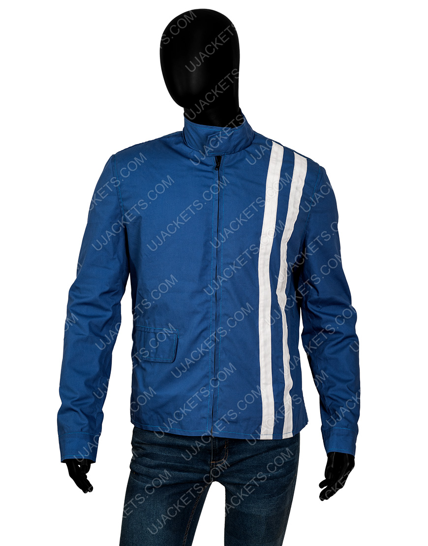 Elvis Presley Speedway Blue Jacket