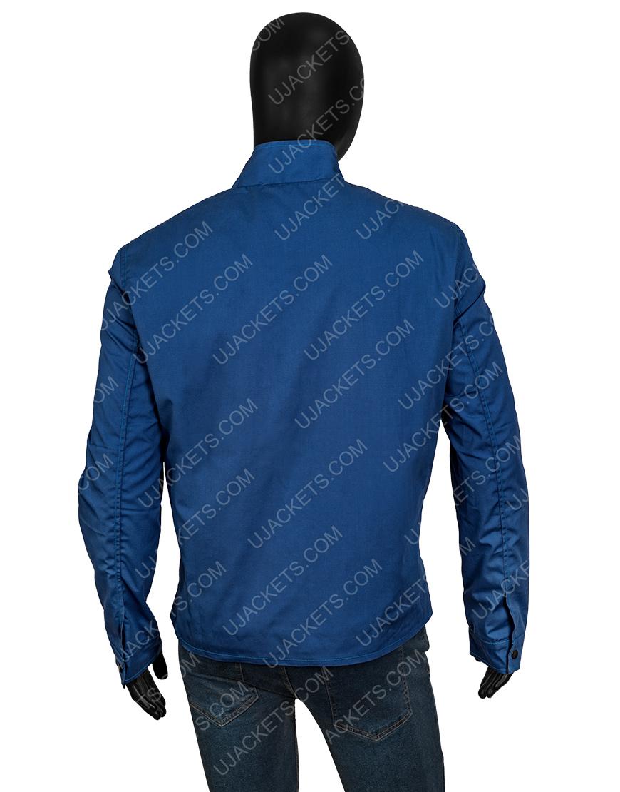 Elvis Presley Speedway Striped Jacket