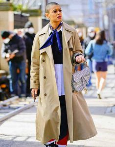 Gossip-Girl-2021-Jordan-Alexander-Trench-Cotton-Coat