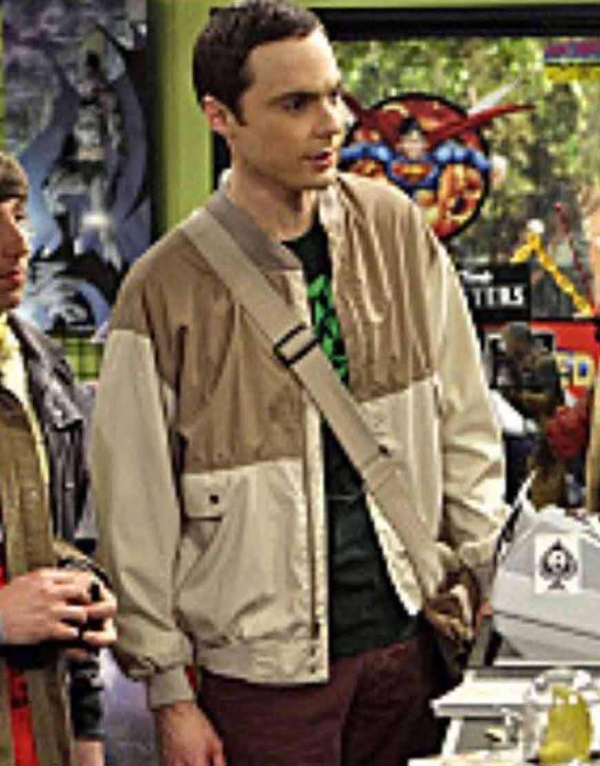 Jim-Parsons-Big-Bang-Cotton-Jacket