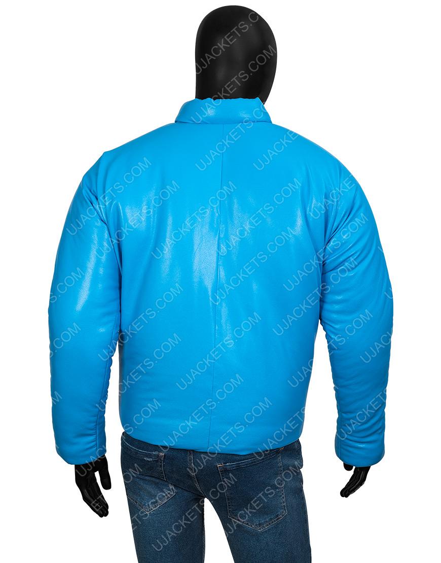 Kanye West Yeezy Gap 2021 Blue Jacket for Men