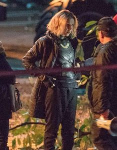 Loki-Sophia-Di-Martino-Black-Puffer-Coat