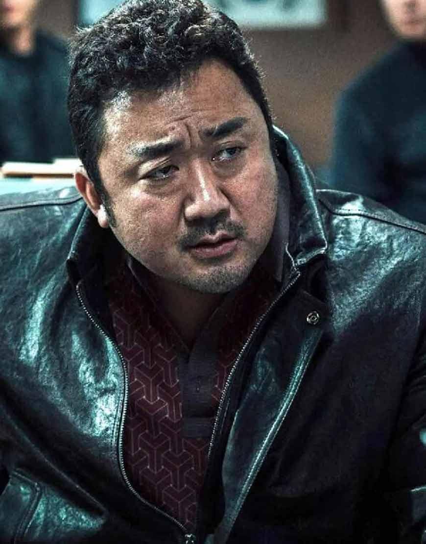 Ma-Dong-seok-Eternals-2021-Black-Leather-Jacket