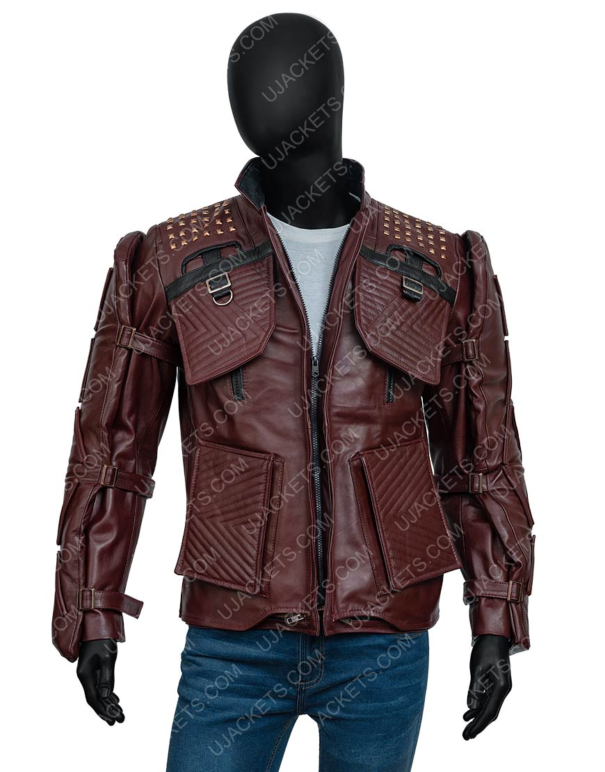 Marvel's Guardians Of The Galaxy 2021 Star-Lord Leather Jacket