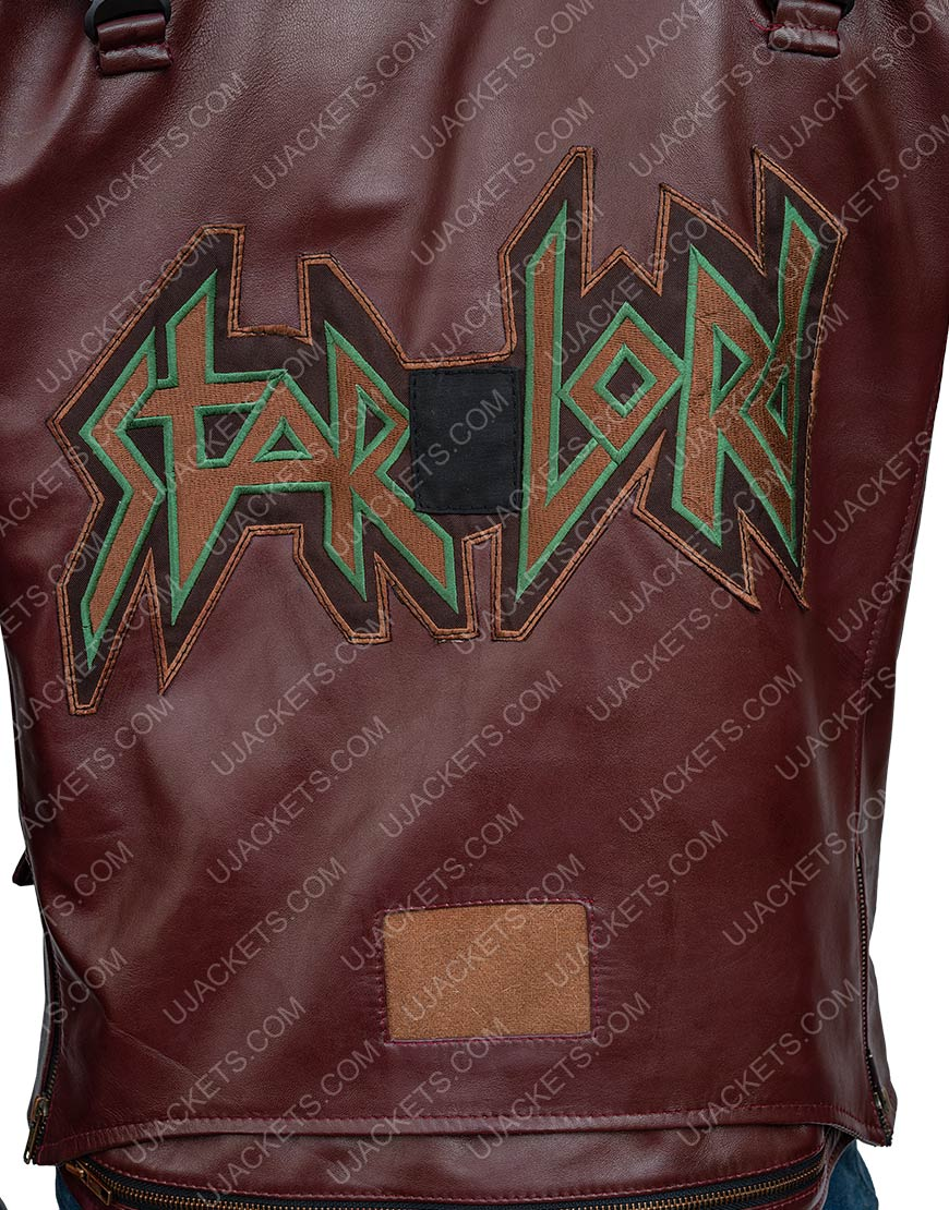 Marvel's Guardians Of The Galaxy Star-Lord Leather Jacket
