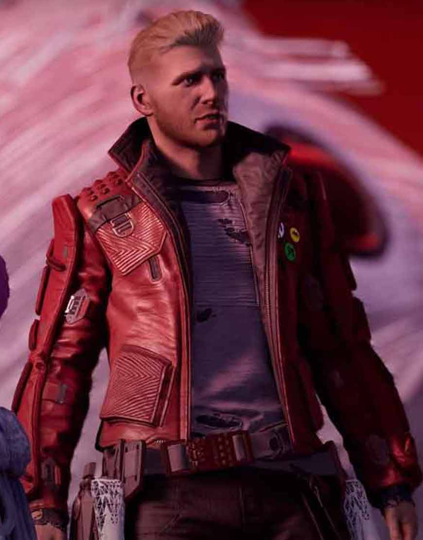 Marvel's-2021-Guardians-of-the-Galaxy-Star-Lord-Game-Leather-Jacket