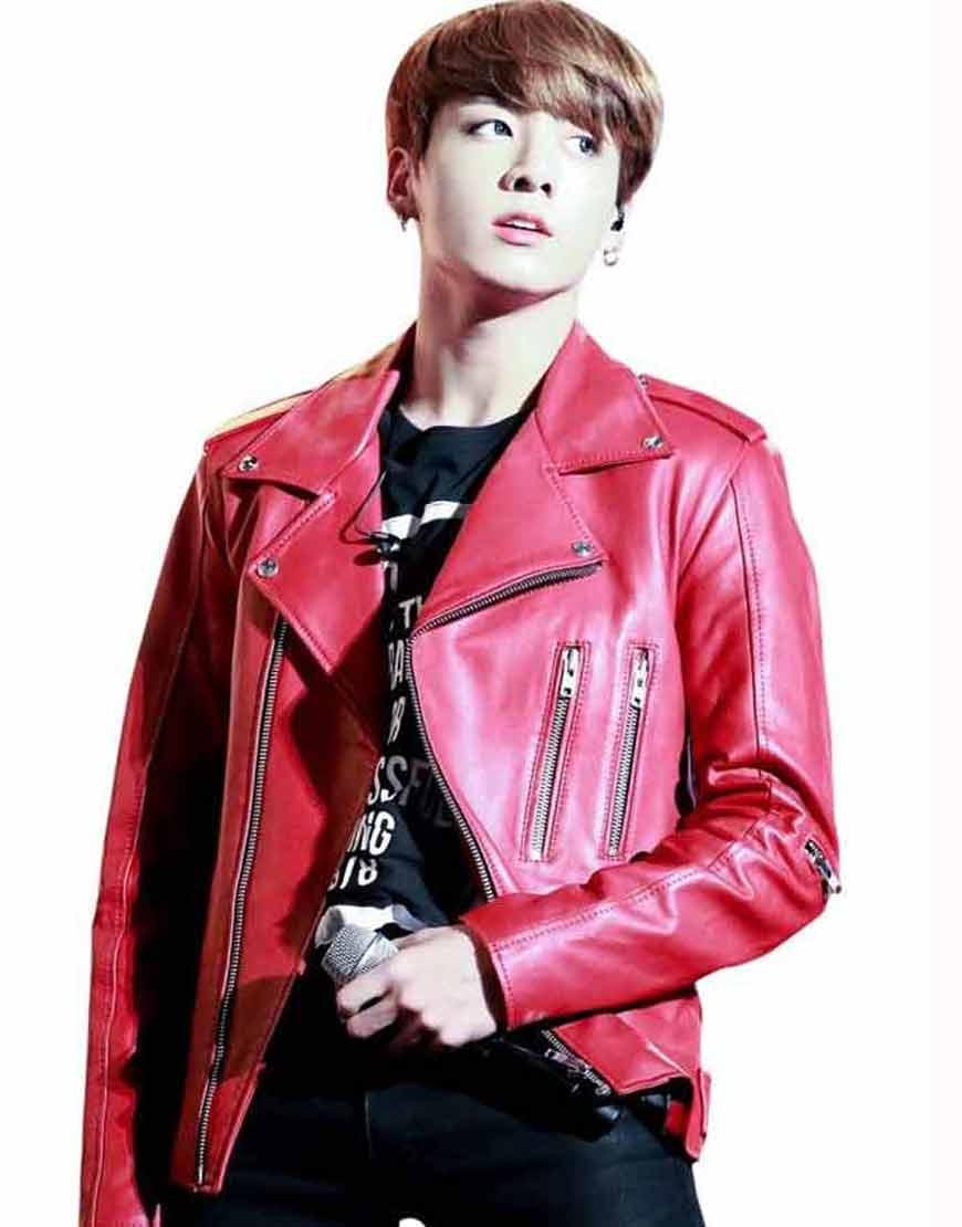 Red-BIker-Joe-Jungkook-Leather-Jacket