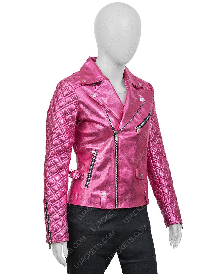 SexLife Sarah Shahi Pink Jacket