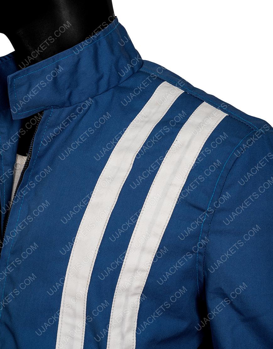 Speedway Elvis Presley Cotton Jacket With White Stripes