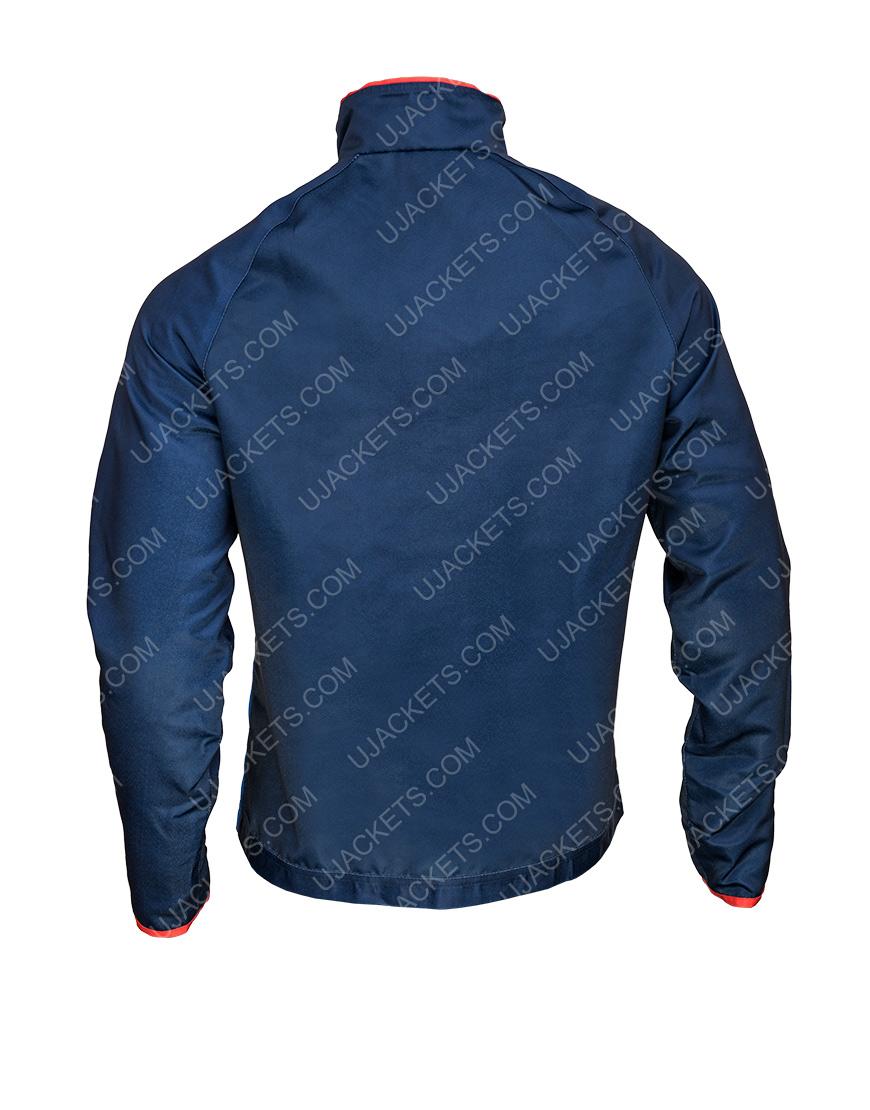 Ted Lasso Jason Sudeikis Blue Jacket