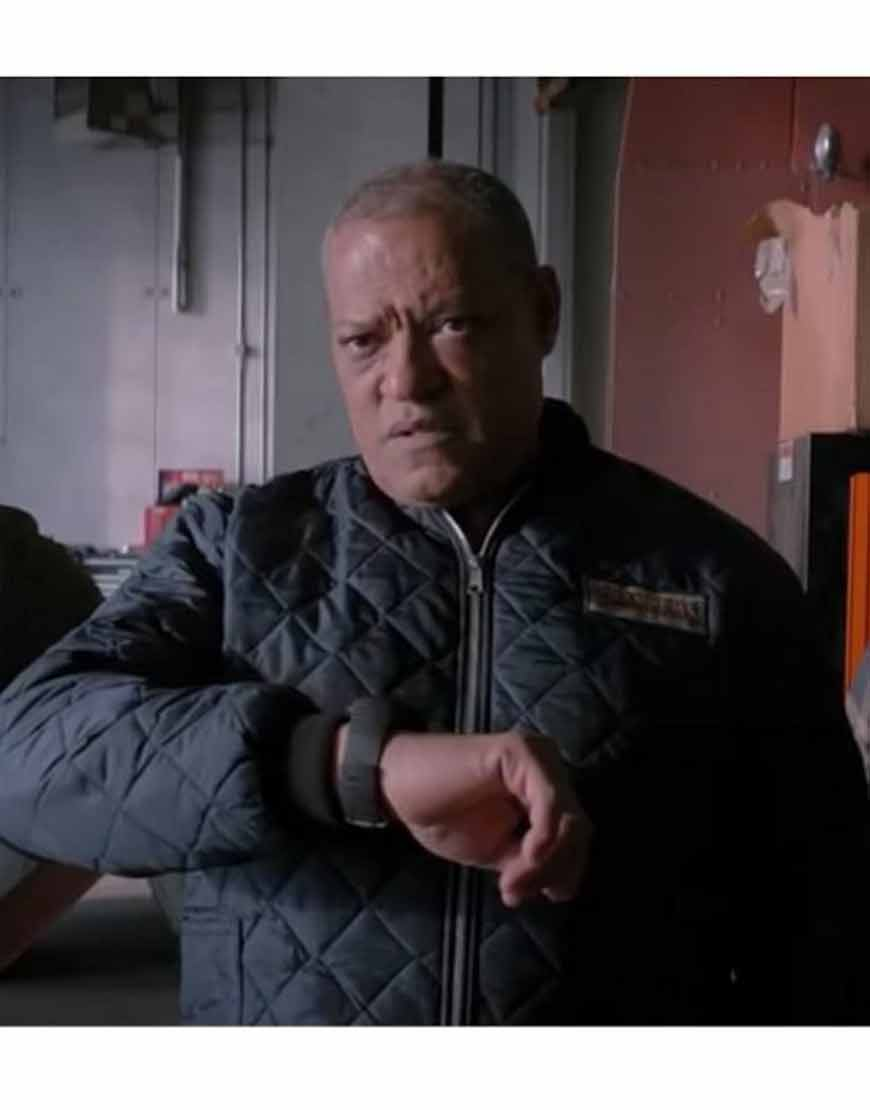 The-Ice-Road-2021-Laurence-Fishburne-Puffer-Jacket