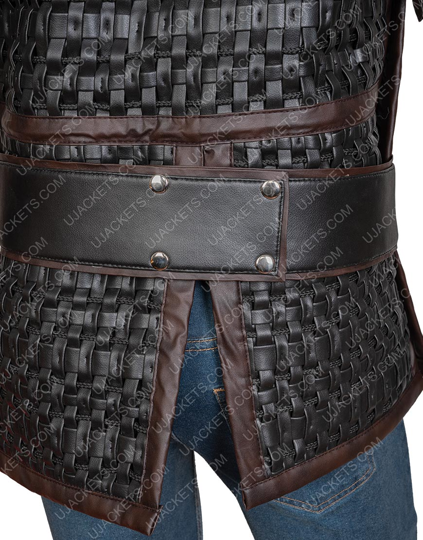 The Last Kingdom S03 Uhtred Vest With Studs