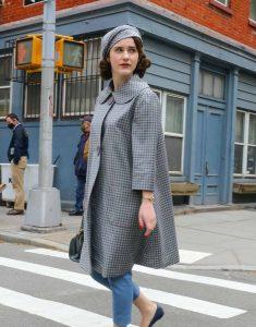 The-Marvelous-Mrs.-Maisel-S04-Rachel-Brosnahan-Grey-Checked-Coat
