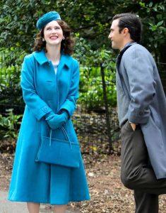 The-Marvelous-Mrs.-Maisel-SO4-Rachel-Brosnahan-Blue-Trench-Coat