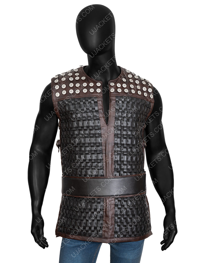 Uhtred The Last Kingdom S03 Vest With Studs