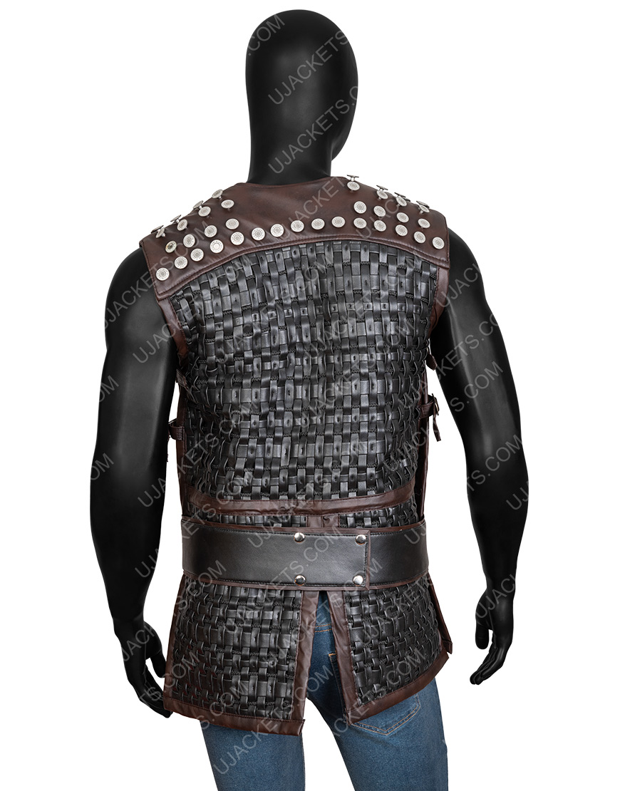 Uhtred The Last Kingdom Vest With Studs