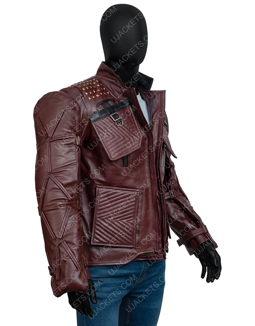 Video Game Marvel's Guardians Of The Galaxy 2021 Star-Lord Jacket