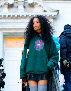 Zoya Lott Gossip Girl Whitney Peak Green Hoodie