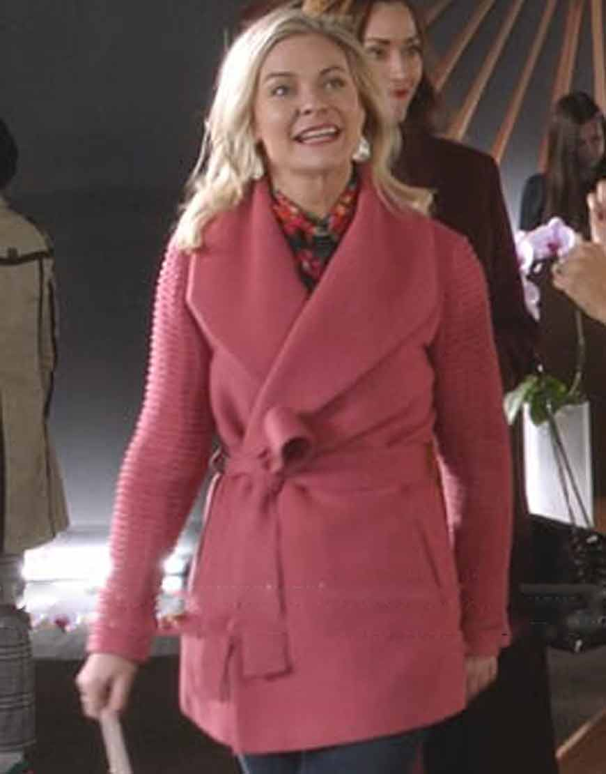good-witch-stephanie-pink-ribbed-sleeve-wrap-coat