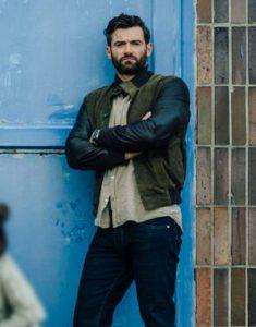 Army of Thieves 2021 Stuart Martin Brad Cage Bomber Jacket