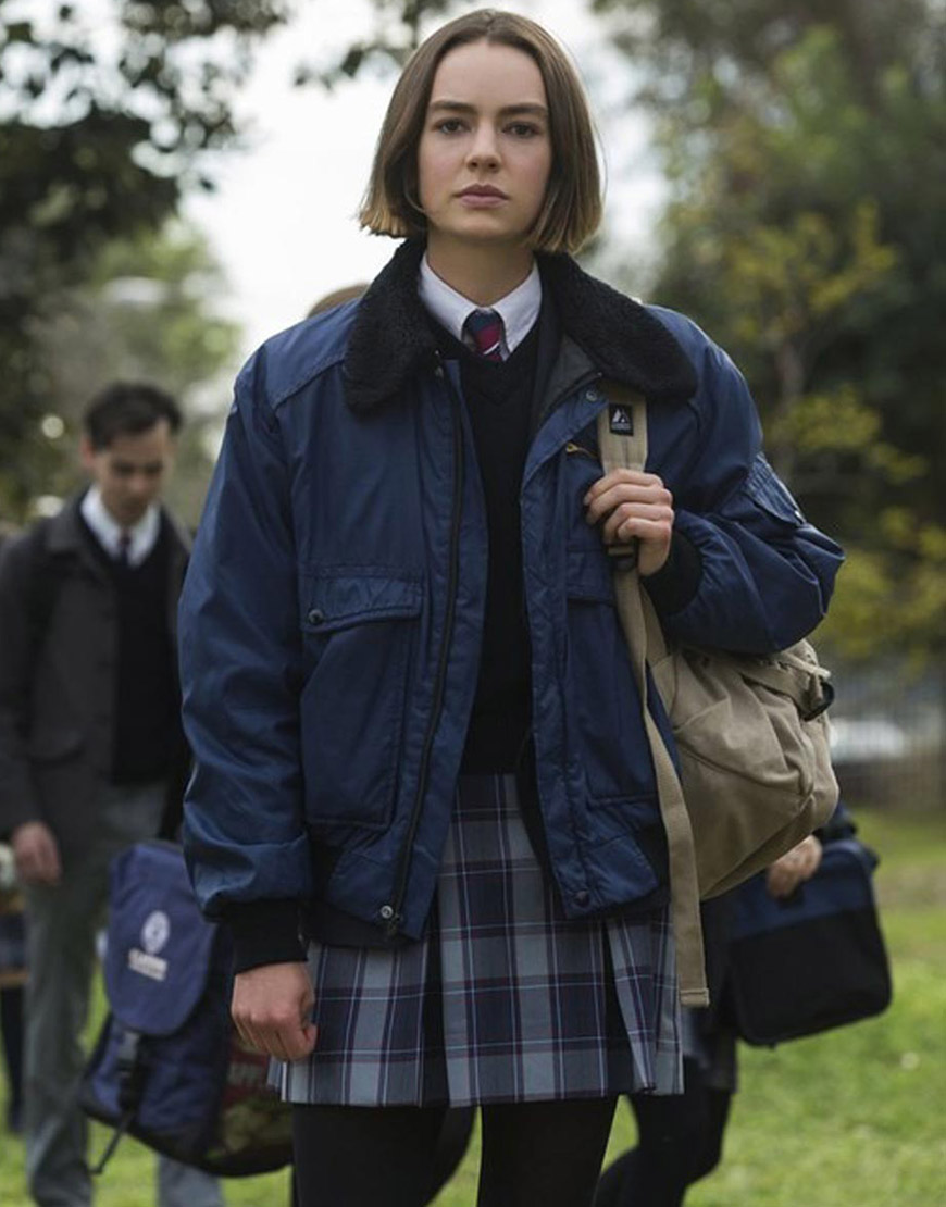 Atypical S04 Brigette Lundy-Paine Blue Jacket