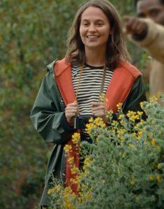 Beckett 2021 April Alicia Vikander Hooded Jacket