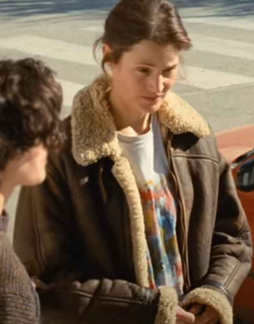 Beckett 2021 Brown Leather Shearling Jacket