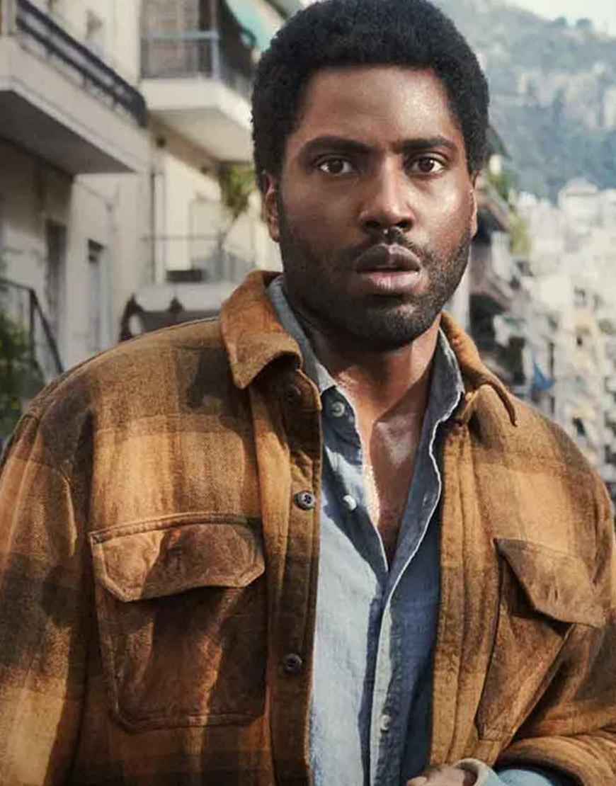 Beckett 2021 John David Washington Plaid Cotton Jacket