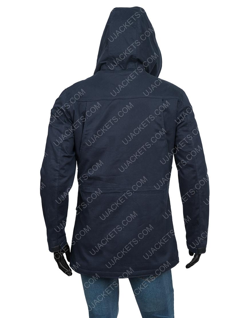 Bill Dobson TV-Series The Chair Jay Duplass Black Cotton Hooded Jacket
