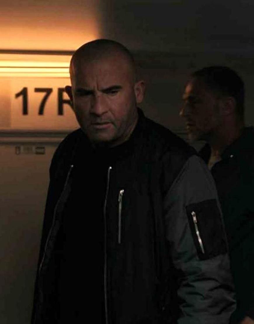 Blood Red Sky 2021 Berg Dominic Purcell Jacket