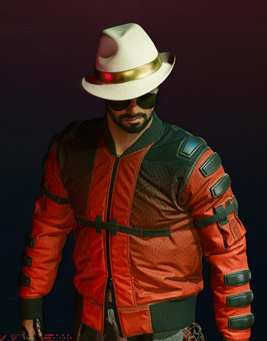 Cyberpunk 2077 Second Conflict Flight Bomber Jacket