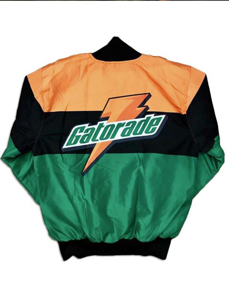 Gatorade Green and Orange Satin Jacket