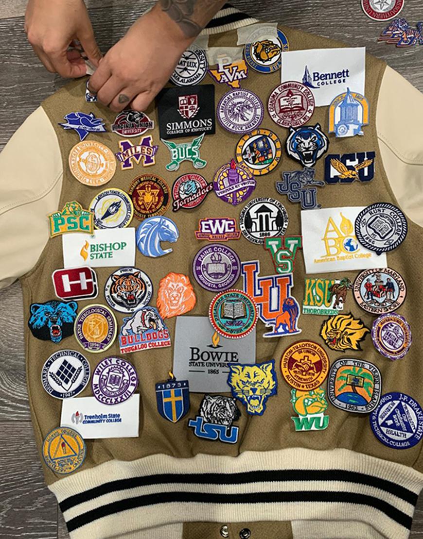 HBCU Chris Paul Emblem Varsity Jacket